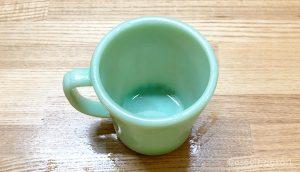 マグカップのシミを落とす
